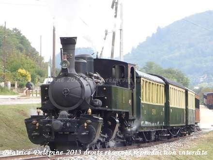Le Mastrou, petit train en Ardèche