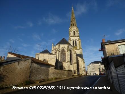 église de Mirebeau 86