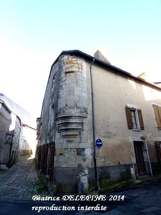 Rue Franklin à Mirebeau