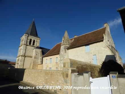 Église et prieuré Saint André