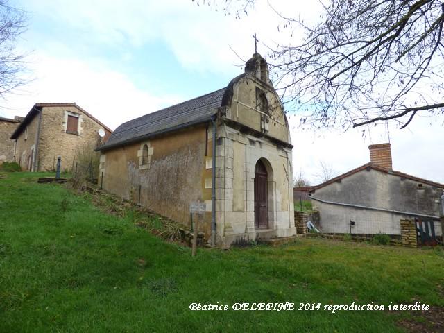 Chapelle de la Bonne Dame à Moncontour 86