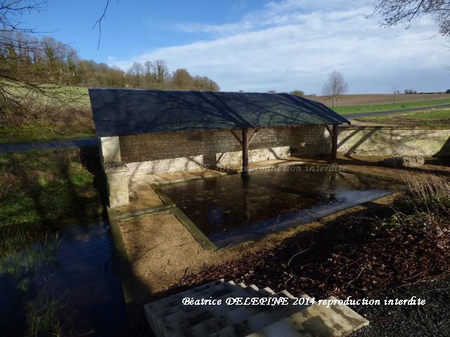 Lavoir entre Glénouze et Ranton