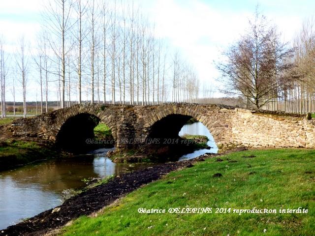 Pont de la Dame Blanche à Curçay sur Dive