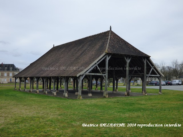 Halle de Scorbé Clairvaux 86