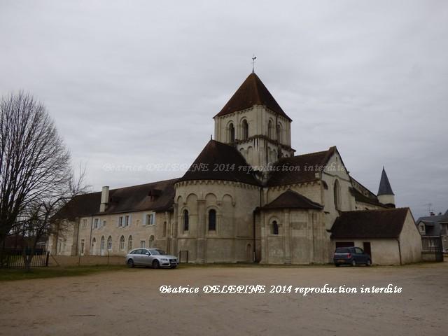 Eglise du XIIème à Lencloître 86