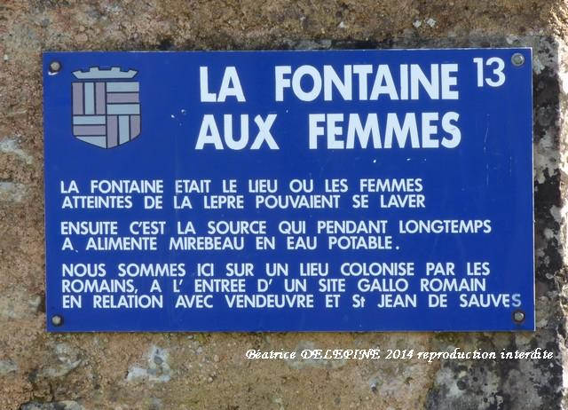 la fontaine aux Femmes