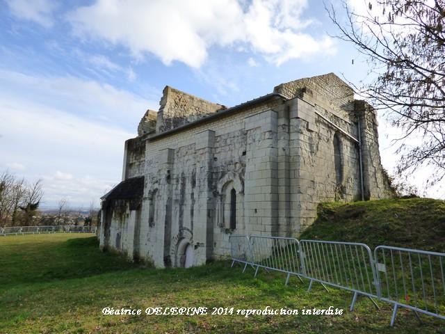 Chapelle de Scorbé Clairvaux 86