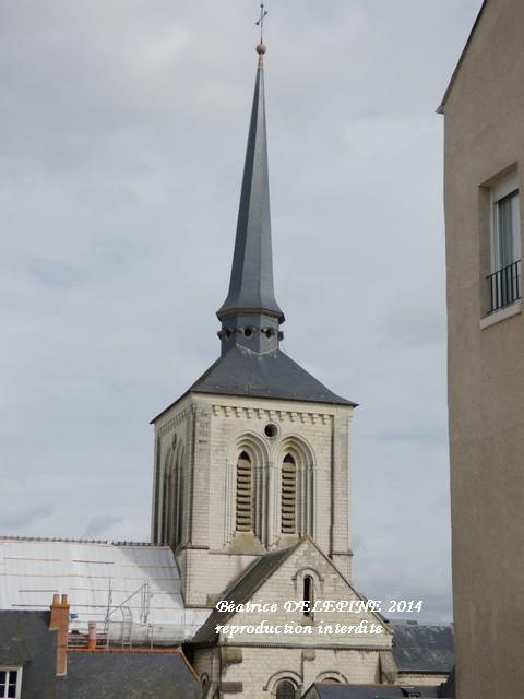 Clocher tors de Saumur