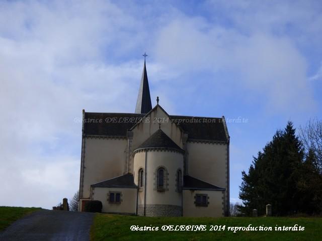 Notre Dame de l'Agenouillée à Azay sur Thouet 79