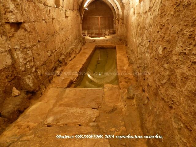 la fontaine souterraine d'Airvault
