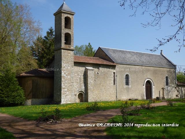 Chapelle Sainte Radegonde de Marconnay